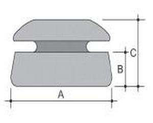 base plastica piana pe 132 MSSP bis