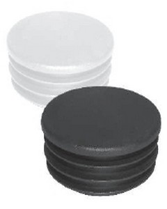 Copritesta in Plastica alettato in PE Diam. mm 90 bianco